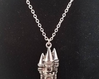 Princess Castle necklace
