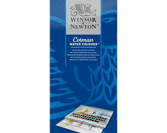 Winsor & Newton Cotman - 45 Half Pans (covering the full range of colours plus one extra of each of the most popular colours)