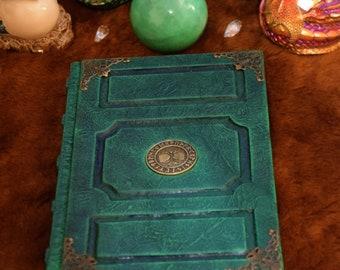 Celtic Tree of Life Grimoire Spellbook journal sketchbook Runes Wicca Druid larp cosplay