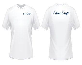Chris Craft Boats Script T-Shirt