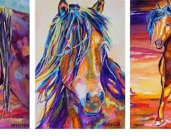 Greeting Card Sets for Horse Lovers