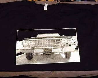 1963 Chevrolet Impala Front Grill Silk Screen