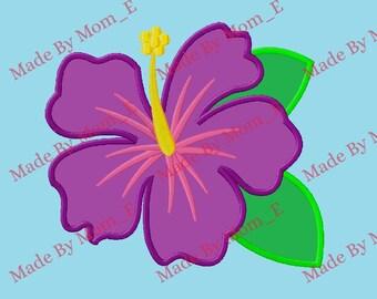 Tropical Flower Applique