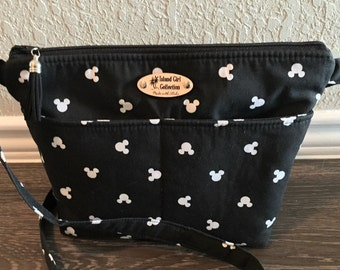 Mickey Cross Body Bag, Shoulder Bag, Travel Bag, Theme Park Bag in Mickey Ears