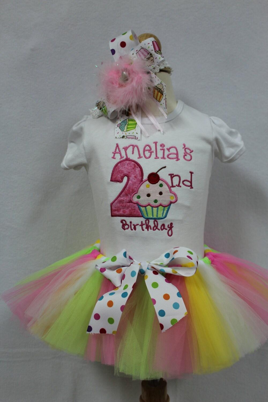 Girls Second Birthday 2nd BirthdaySecond