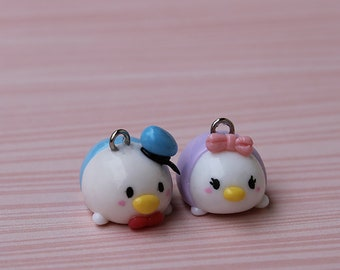 Donald and Daisy Tsum Tsum charms