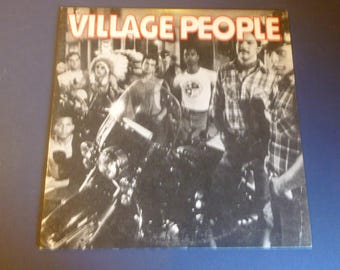 Village People Vinyl Record LP NBLP 7064 Casablanca Records 1977