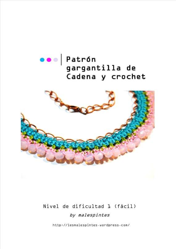 Bonito Patrón Cadena Crochet Fotos - Ideas de Patrones de Costura ...