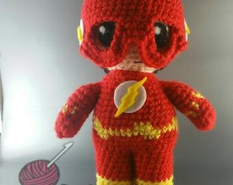 Flash Amigurumi doll