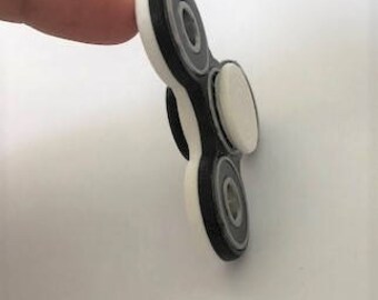 3D SPINNER - Fidget Toy - BICOLOR SPINNER