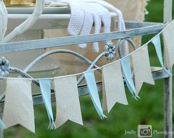 SAMPLE SALE: Scrap Fabric Banner (free shipping!)