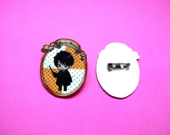 Cute Harry Potter Pin Brooch Hogwarts Gryffindor