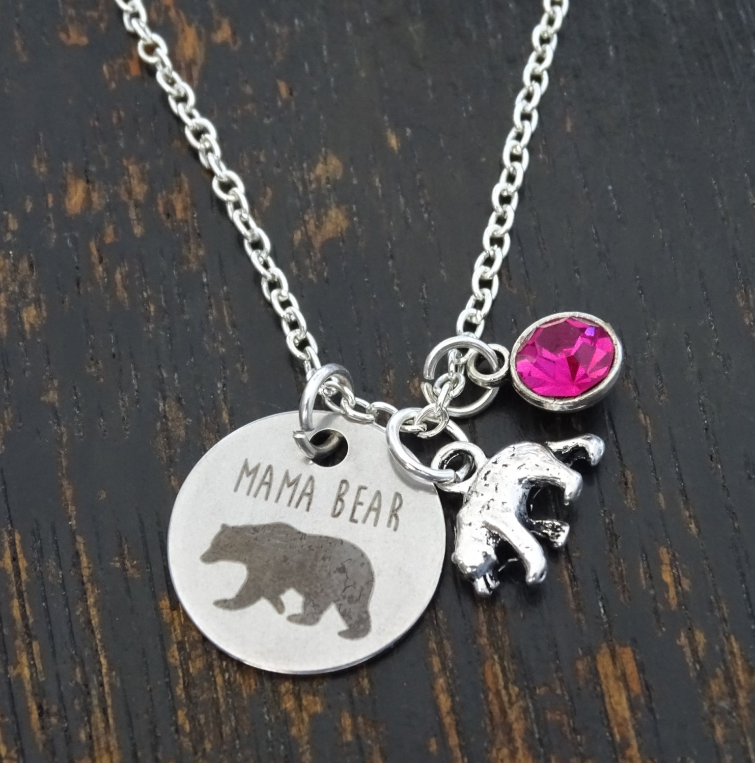 badger fruit wolf bear pendant strange image silver uk