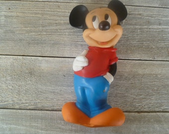 Mickey Mouse Vinyl Bank Disney Collectable