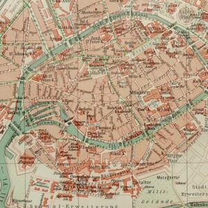 Strasbourg map Etsy