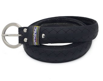 """Bicycle Tire Belt """"CORRATEC"""" (upcycled vegan handmade) by tirebelt.com Fall Collection 2017"""