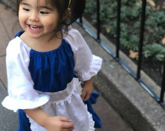 Beauty and the Beast Inspired Belle Provincial Girl Dress