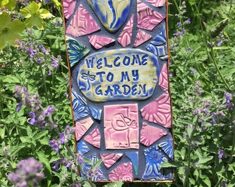 Welcome To My Garden | Etsy