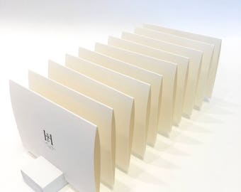 Place Card Holder + White Plank Place Card Holder (Set of 10) ON SALE