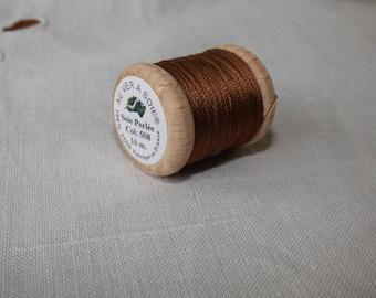 Spool of 16 meters of silk beaded No. 508