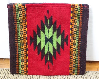 Mitla Moda 2-sided Tablet Bag or Clutch Fair Trade ethical Artisan Mexico Mexican Wool