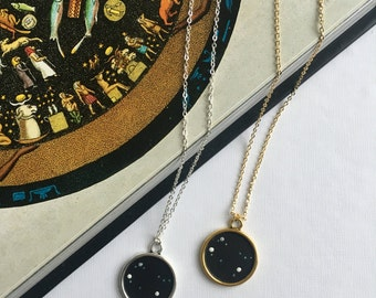 GEMINI NECKLACE. gemini star sign necklace / inspirational / personalised necklace / gemini gift / gemini zodiac necklace / constellation
