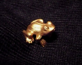 Pins Frog Estee Lauder - Vintage and authentic - Rare