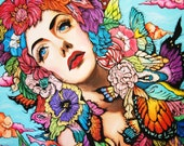 Fine Art Pop Surreal Gree...