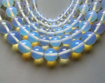 Full Strand 15inches Opalite Round Beads - A528