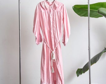 Awesome 1940s cotton duster robe