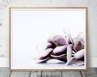 Purple Orchid print, Wall Art Print, Flower Print, wall art, Botanical Print, Flower Poster, Orchid Photography, Girls room print