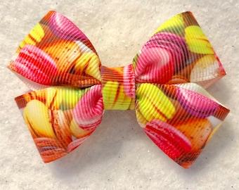 Girly Macaroon Mini Bow