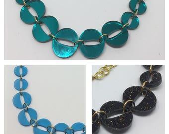 Happy O's Acrylic Necklace