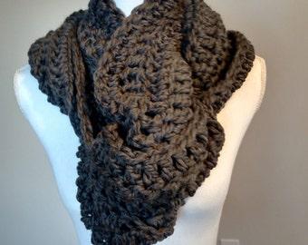 Crochet Women's Oversized Scarf