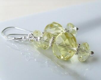 Sparkling lemonade Earrings