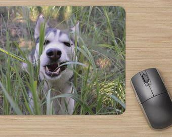 Siberian Husky Dog Computer Mousepad