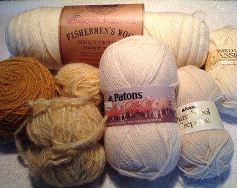 Destash yarn wool