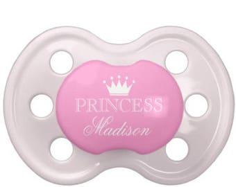 """Custom """"Princess"""" Pacifier"""