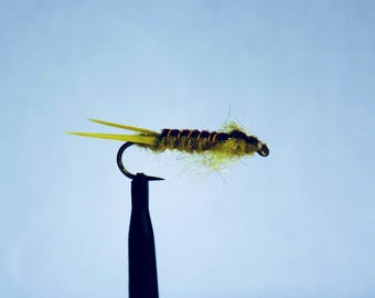 3 pack fly fishing flies golden stone fly  pattern
