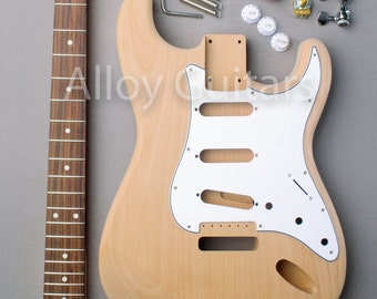"DIY ""Platinum"" ST Style Electric Guitar Kit"