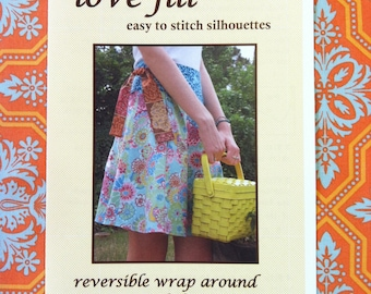 lovejill reversible wrap skirt sewing pattern for women