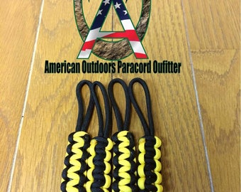 Yellow Jeep Soft Top Zipper Pulls
