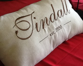 Wedding & Anniversary Pillow