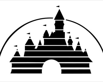 Disney Studios Castle Vinyl Decal Sticker