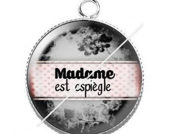 Cabochon resin cameo for madame mischievous 3