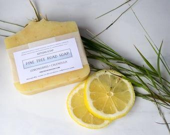 LEMONGRASS + CALENDULA Bar Soap.  Soap Bar.