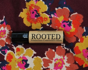 Grounding Perfume Oil Aromatherapy Roll on