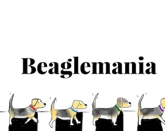 Beaglemania and Snoopy Print