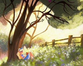 Art Print Alice in Wonderland