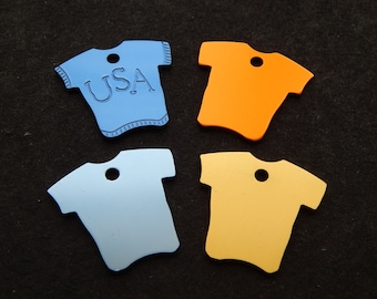 Laser Engraved T-Shirt Tag
